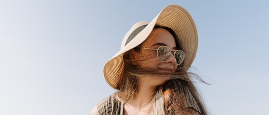 Woman with acne in the summer Why Acne Can Worsen in the Summer
