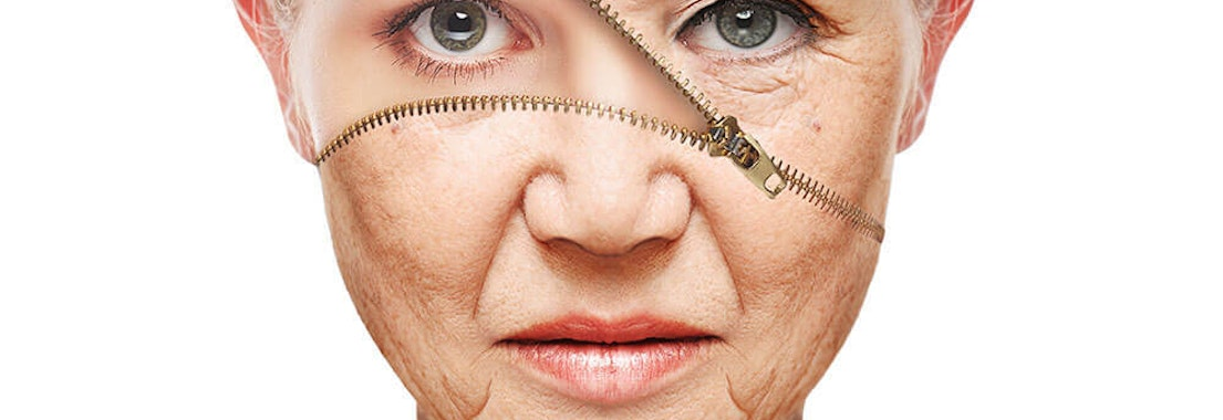Woman treating her aging skin Aging Skin and Makeup: Our Tricks of The Trade