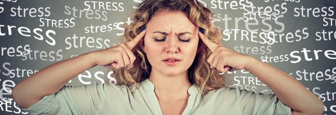 Woman under stress How Stress Affects Pre-Existing Skin Conditions