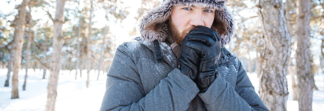 Man with eczema in the winter Keep Your Dermatitis/Eczema Under Control This Winter