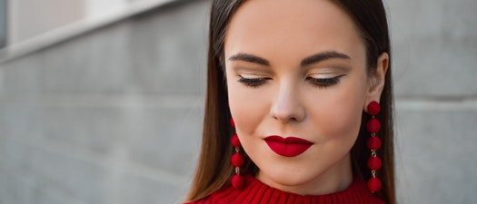 Woman with lip enhancement Try Lip Enhancement in Time for Valentine's Day