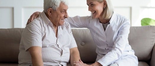 Older man and woman smiling Can I Still Get Shingles if I've Had Chickenpox?