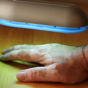Hand receiving treatment for vitiligo We Can Treat Your Vitiligo - Find Out What Procedures We Recommend