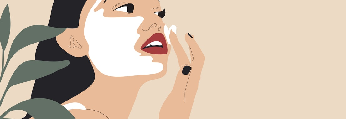 Woman putting facial cream on her face Top Ideas to Make Your National Skin Care Awareness Month Even Better