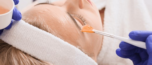 Woman having chemical peel Aging Skin But Not Ready for Needles? Try a Chemical Peel