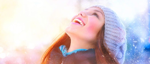 Woman with skin treatment in winter weather Is Your Skin Ready for Winter? What You Should Know