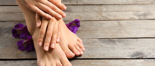 Close up of a woman's feet Which Nail Shapes are a Sign of Nail Abnormalities?