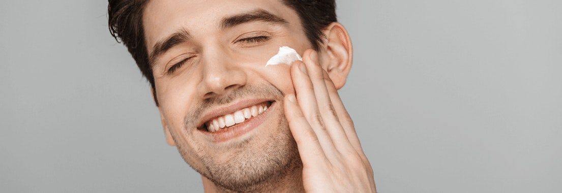 Man doing his skin care routine How to Know If Your Skincare Routine Is Working