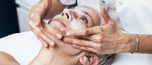 Woman having chemical peel treatment New Year, New Skin. Why You Should Try a Chemical Peel