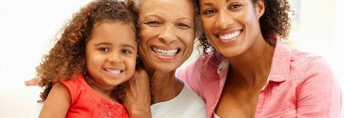 Mother, daugher, and grandmother smiling Is It Ever Too Late to Stop the Aging Process?