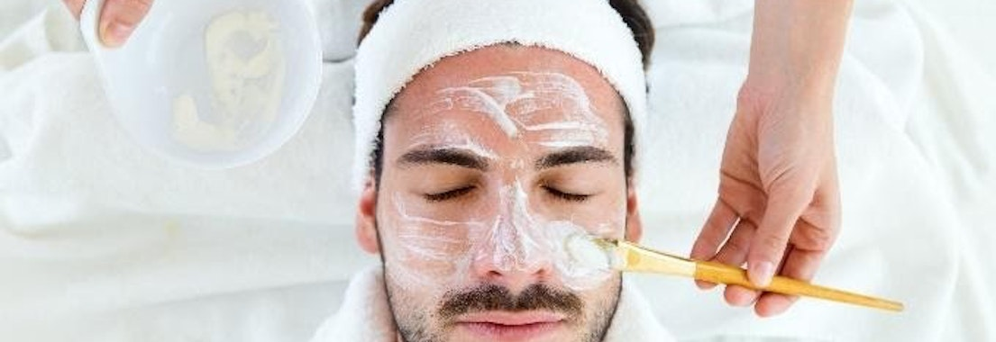 Man having facial skin treatment Top Ideas to Make Your National Skin Care Awareness Month Even Better