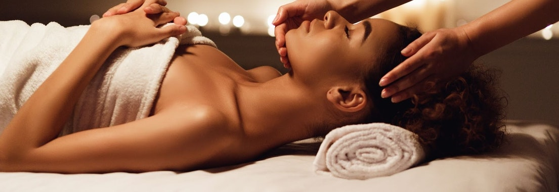 Woman having relaxing facial treatment De-stress Pre-holiday With These Facials That Allow You to Relax