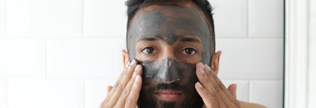 Man wearing facial treatment What Facials Can Do For Your Skin After a Hot Summer