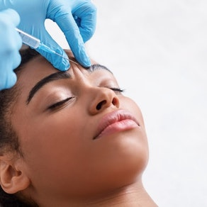 Woman having botox injected to her eyebrow Can You Be Too Young to Try Botox?
