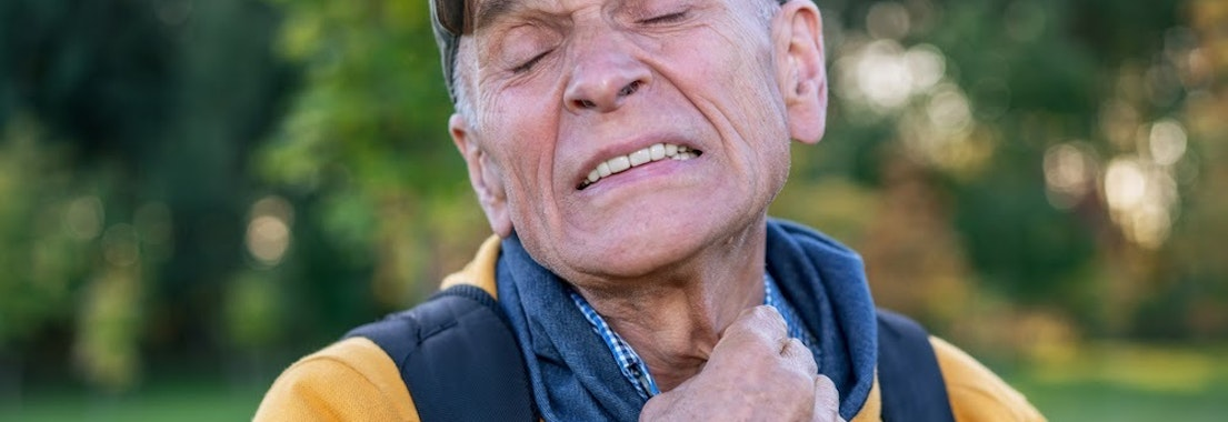 Man itching at fall allergies Reduce Skin Irritation from Fall Allergies