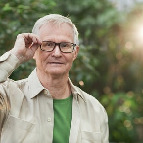 Older man with glasses How to Reduce Wrinkles After They've Appeared