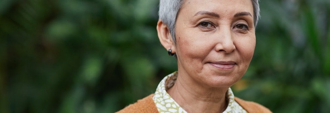 Woman with well-aging skin How Do You Know If You're Aging Well? 6 Signs to Consider
