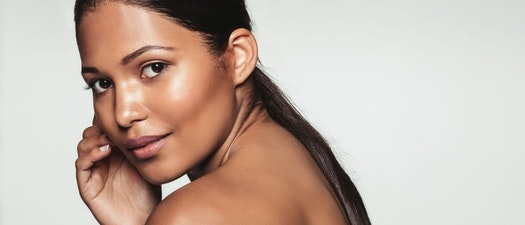 Woman with healthy skin How to Celebrate Healthy Skin This National Healthy Skin Month