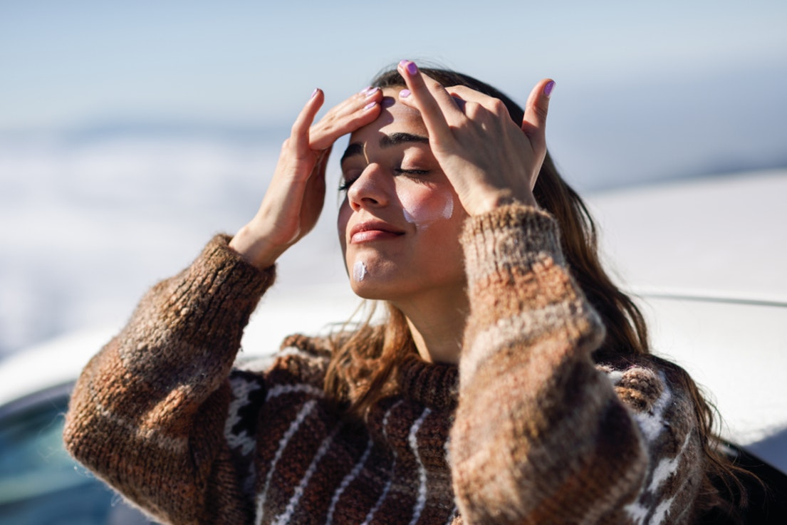 Applying Sunscreen Daily Prevents Photoaging