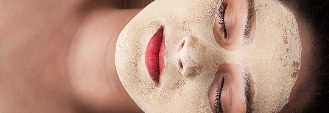 Woman with chemical peel treatment Enjoy a Chemical Peel to Get Rid of Signs of Holiday Stress