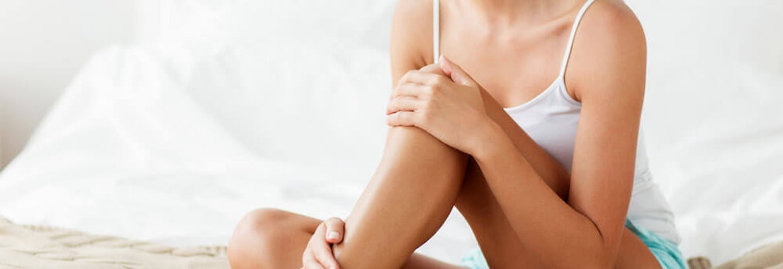 Woman with smooth leg skin 7 Tips for Smoother Body Skin