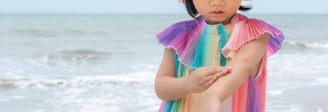 Vanguard Dermatology sunscreen application Kids and the Sun: How to Protect Your Little Beach Bums This Year